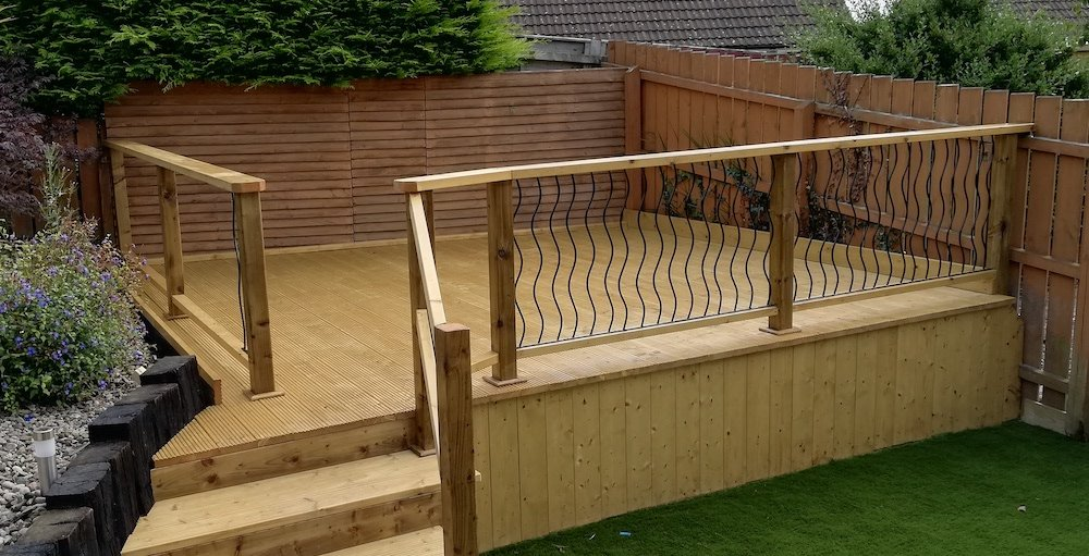 how to treat decking timber