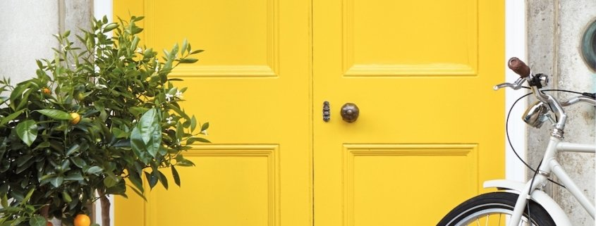 Painting A Door Without Brush Marks