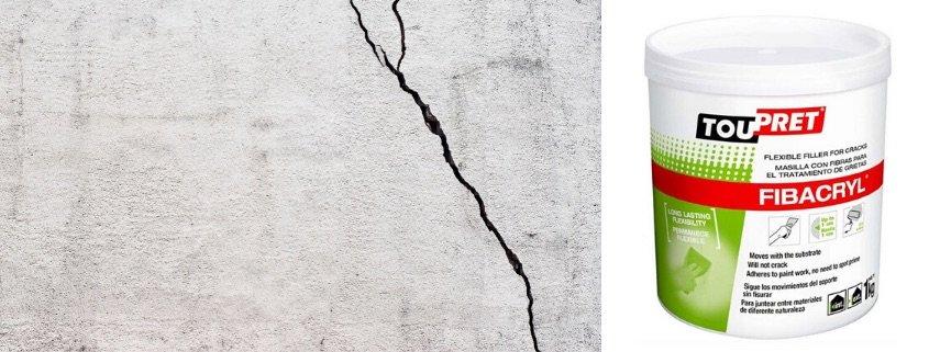 How To Repair Cracks In Ceilings, Fibacryl