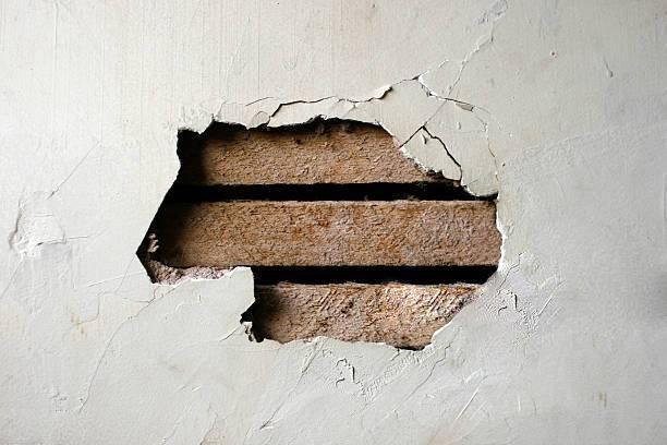 Repairing Holes In Plasterboard